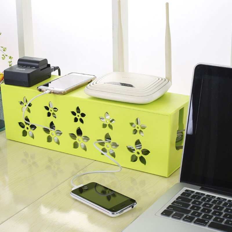 DIY Cable Management Box  Aliexpress Buy DIY Cables Storage Organizer cable