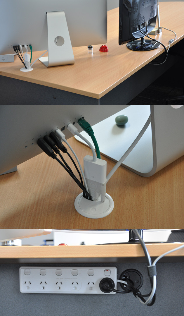 DIY Cable Management Box  Simple Cord Management Solutions That Can Make Life Easier