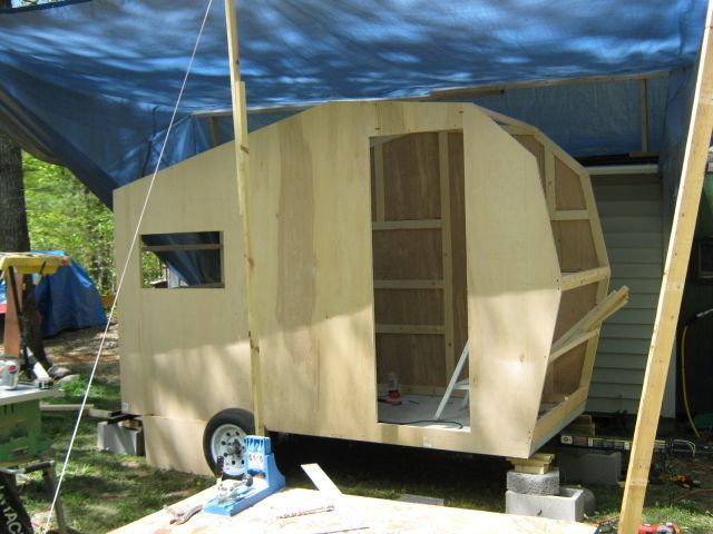 DIY Camper Trailer Plans  197 best DIY Camping Trailers images on Pinterest