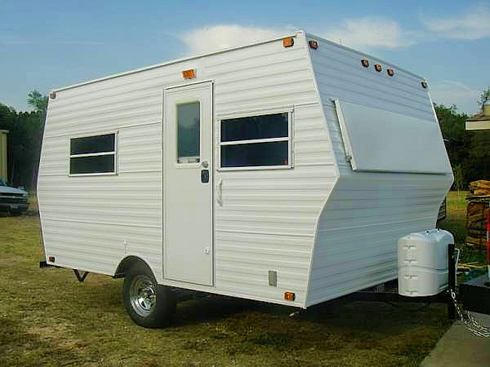 DIY Camper Trailer Plans  Wood Diy Travel Trailer Plans PDF Plans