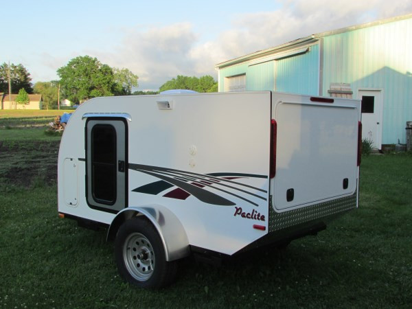 DIY Camper Trailer Plans  DIY Micro Camping Trailer I Built for Cheap