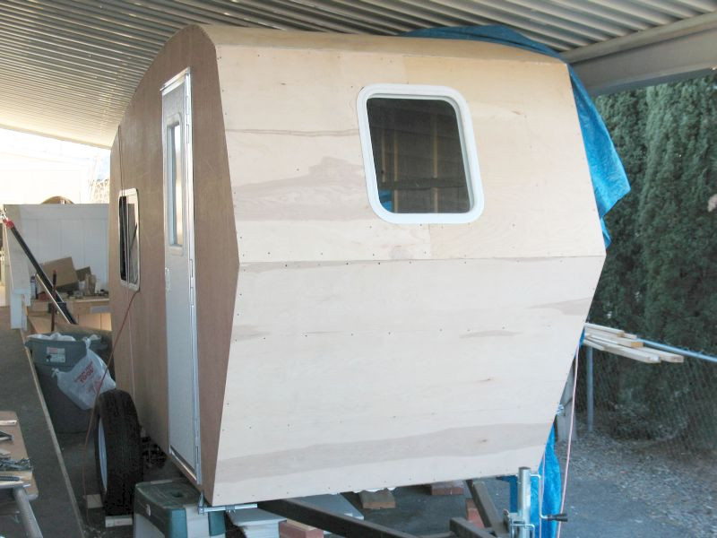 DIY Camper Trailer Plans  Build a 1 400 lb Stand Up Camper for under $4 000