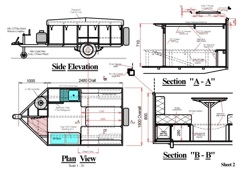 DIY Camper Trailer Plans  Campervan Plans MotorHome Alternative Energy EBook
