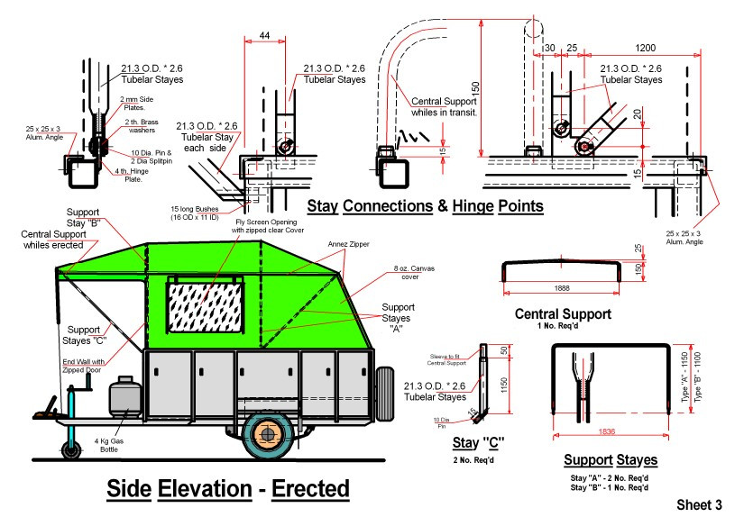 DIY Camper Trailer Plans  Homemade camper van plans