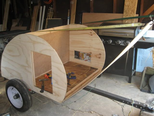 DIY Camper Trailer Plans  Motorcycle Teardrop Trailer Plans