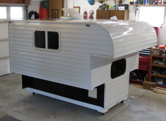DIY Camper Trailer Plans  Homemade Pickup Camper Plans Camper Ideas