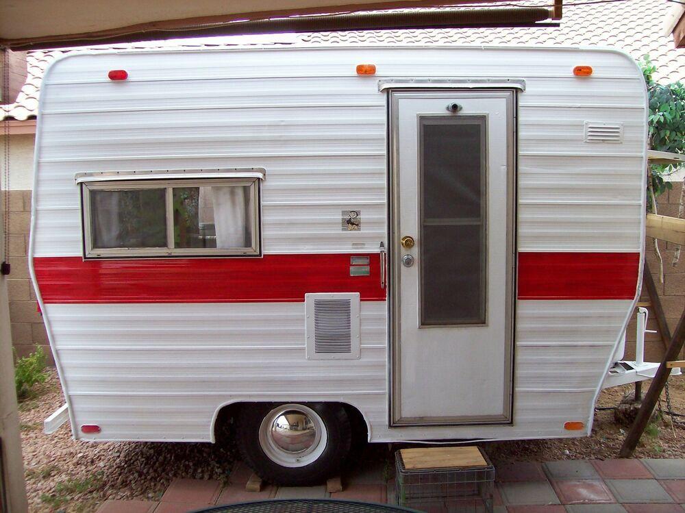 DIY Camper Trailer Plans  Vintage 13 ft Canned Ham Camper Trailer PLANS Tear Drop RV