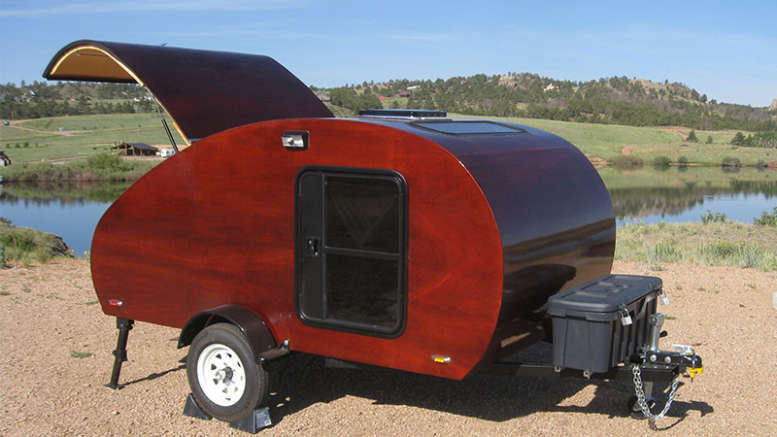 DIY Camper Trailer Plans  DIY Teardrop Trailer How to Build a Teardrop Trailer