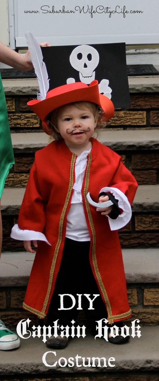 DIY Captain Hook Costumes  DIY Halloween Costumes