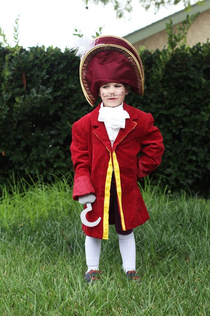 DIY Captain Hook Costumes  DIY Captain Hook Costume from Disney s Peter Pan