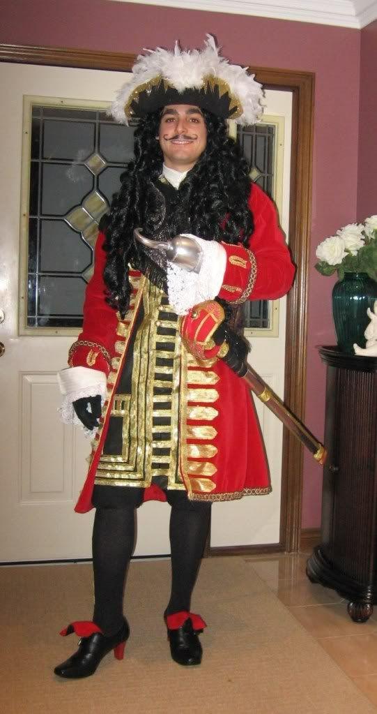 DIY Captain Hook Costumes  Best 25 Captain hook costume ideas on Pinterest