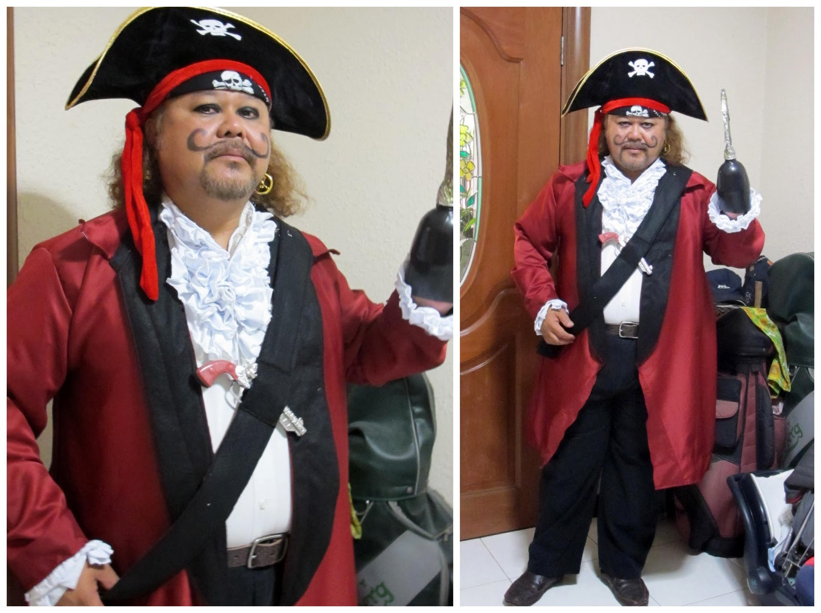 DIY Captain Hook Costumes  Rabbit The Penguin DIY Captain Hook Costume