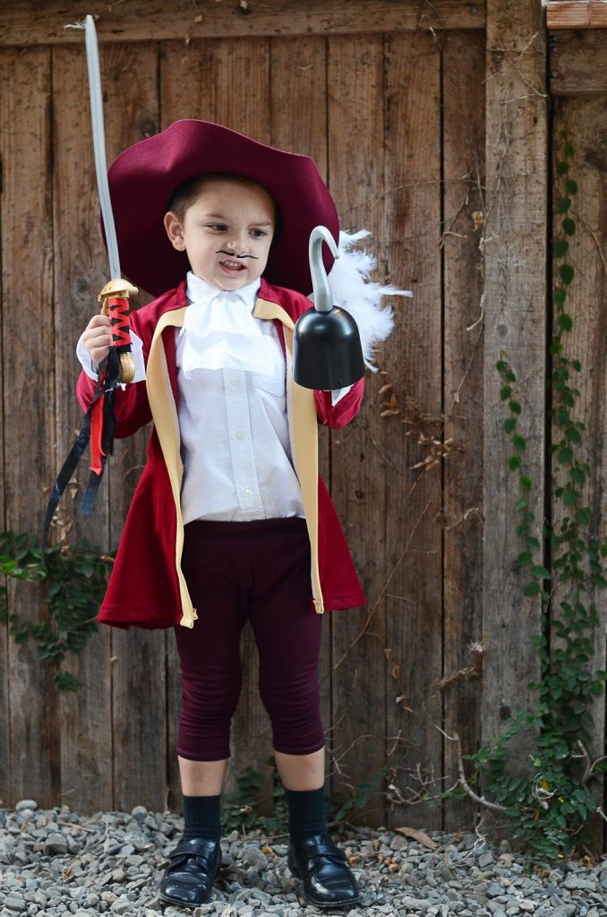 DIY Captain Hook Costumes  Merrick s Art Style Sewing for the Everyday