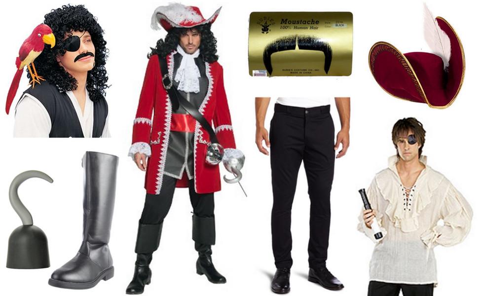 DIY Captain Hook Costumes  Captain Hook Costume