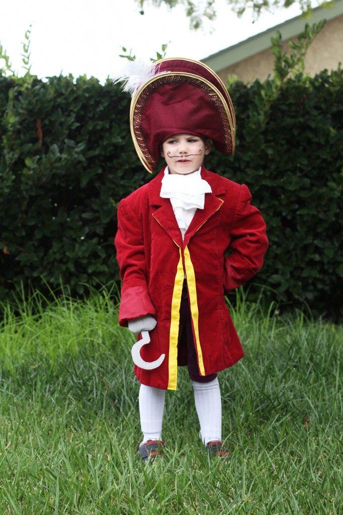 DIY Captain Hook Costumes  DIY Captain Hook Costume Mom Crafts Pinterest