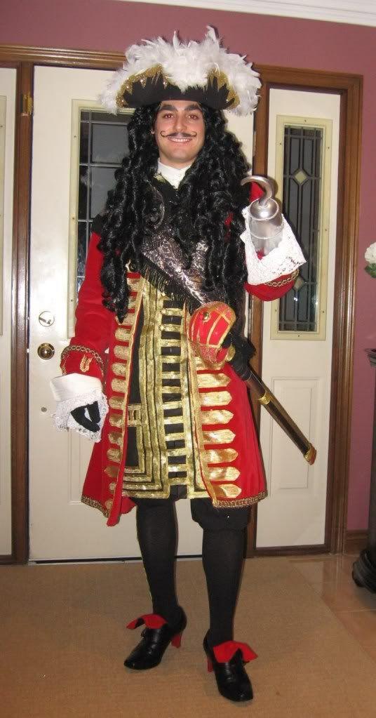 DIY Captain Hook Costumes  Captain Hook Halloween Costume in 2019