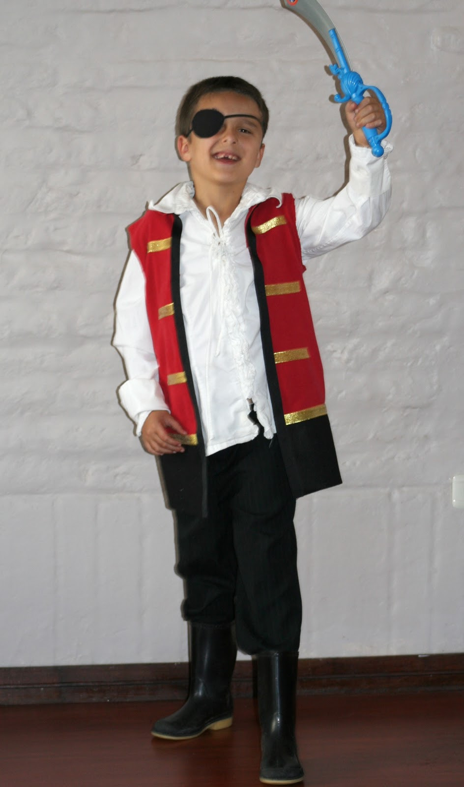 DIY Captain Hook Costumes  How to Make a No Sew Captain Hook Costume From a T Shirt