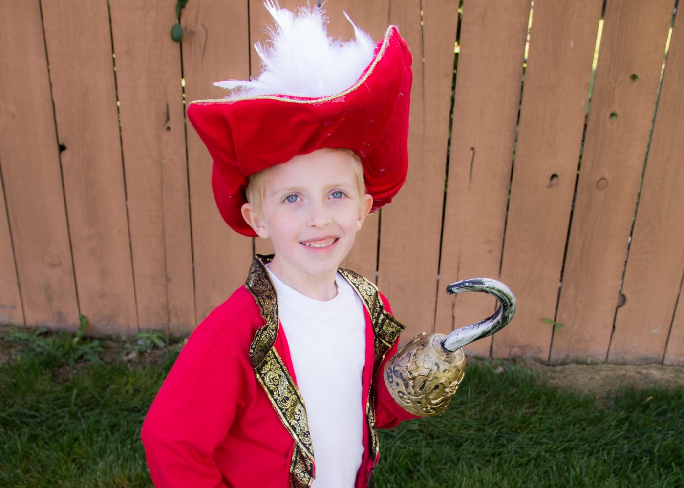 DIY Captain Hook Costumes  DIY Captain Hook Costume No Sewing Required