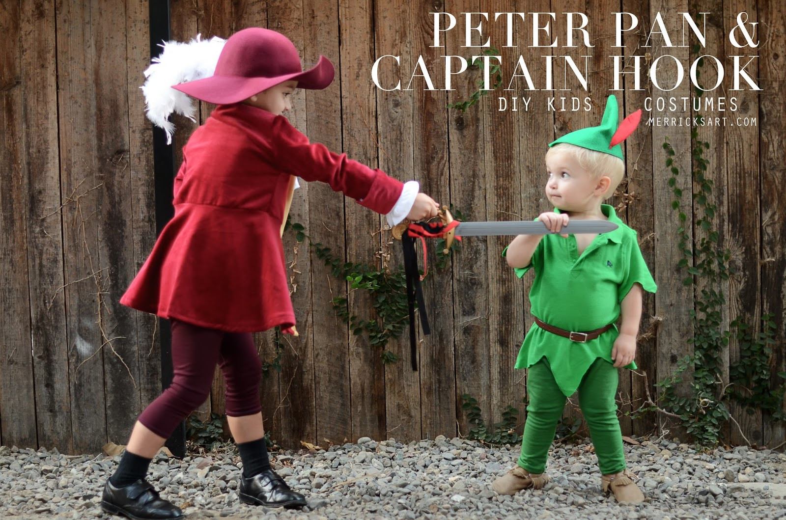DIY Captain Hook Costumes  Merrick s Art Style Sewing for the Everyday Girl