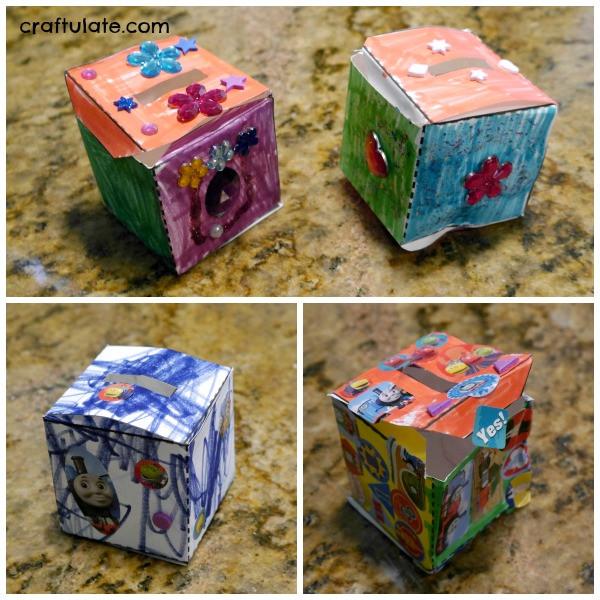 DIY Cash Box  DIY Money Box for Kids Craftulate