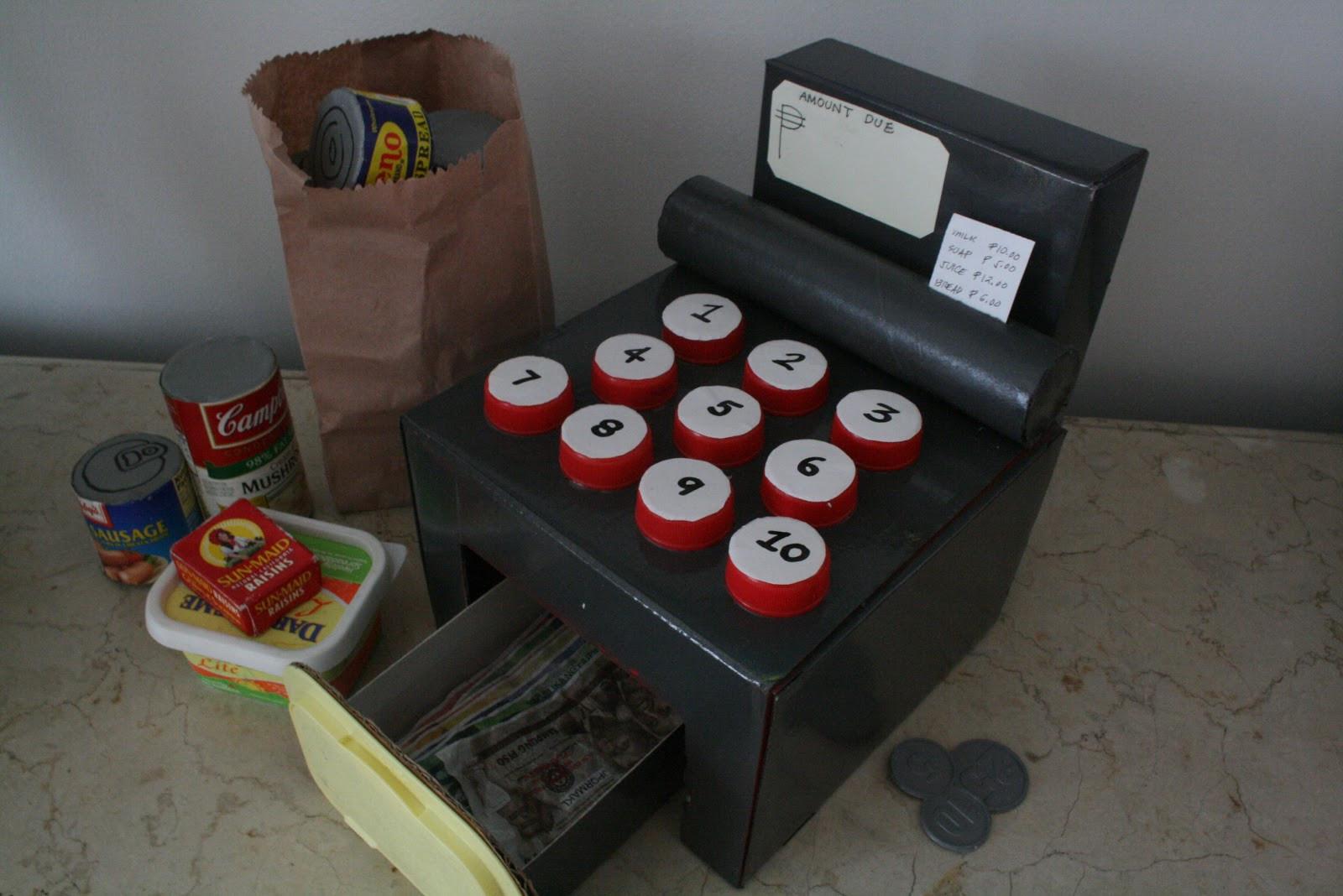 DIY Cash Box  home eco nanay DIY Toy Cash Register