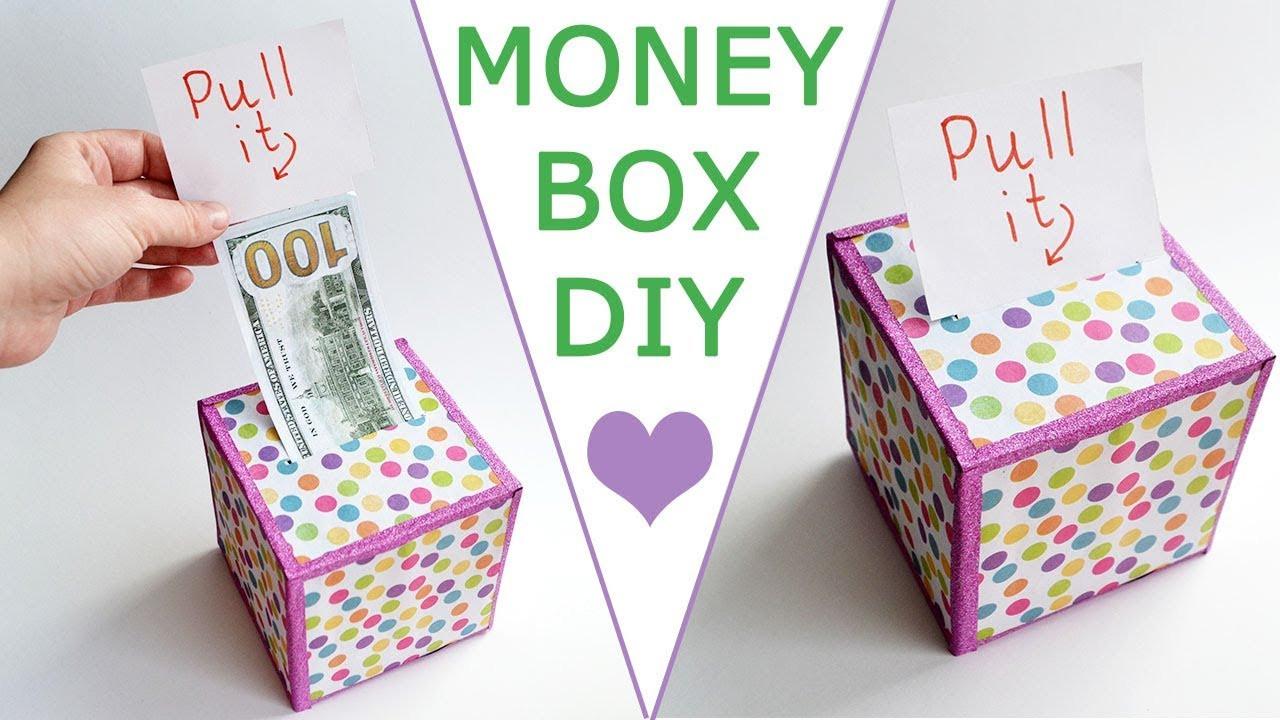 DIY Cash Box  WOW MONEY BOX