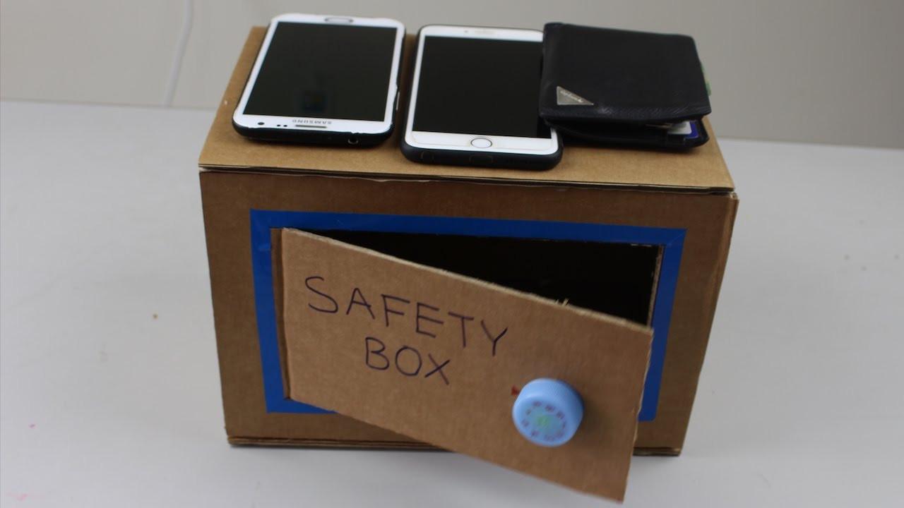 DIY Cash Box  DIY How To Make A Money Safety Box at Home