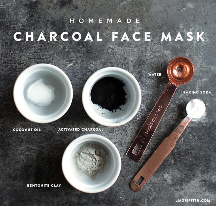 DIY Charcoal Face Mask  DIY Charcoal Face Mask