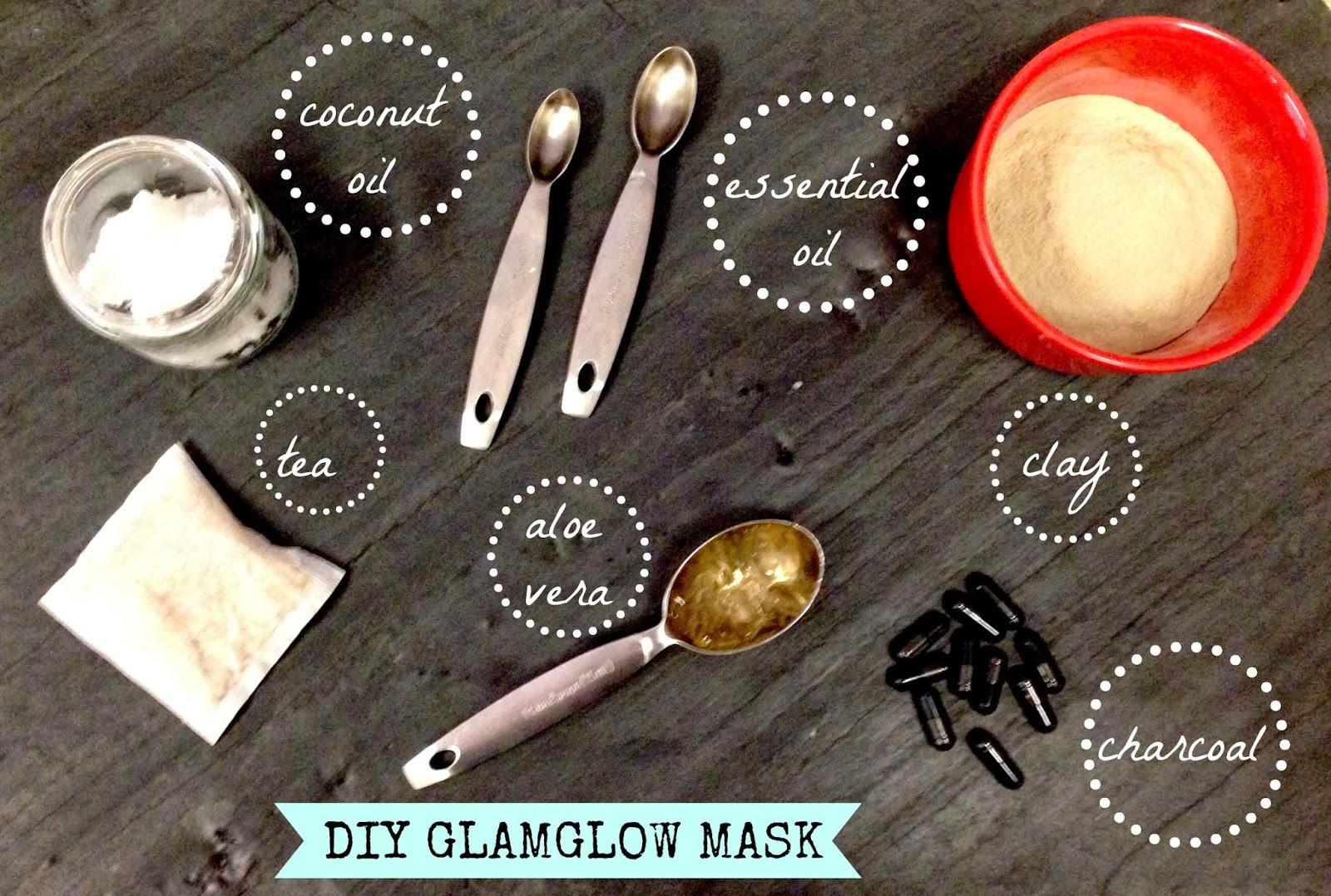 DIY Charcoal Face Mask  DIY GLAMGLOW FACE MASK