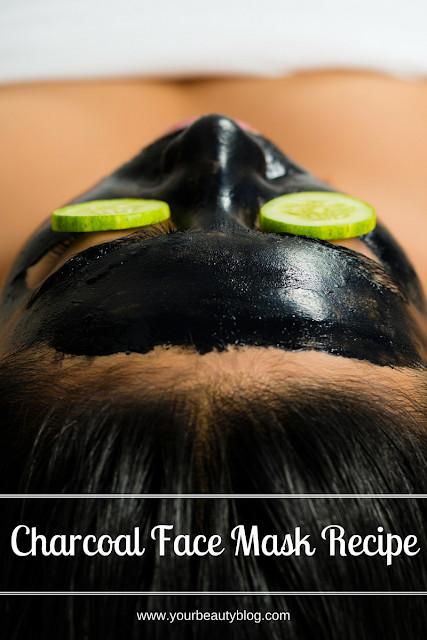 DIY Charcoal Face Mask  DIY Charcoal Face Mask Recipe Everything Pretty
