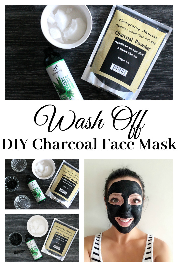 DIY Charcoal Face Mask  Wash f DIY Charcoal Face Mask Extreme Couponing Mom