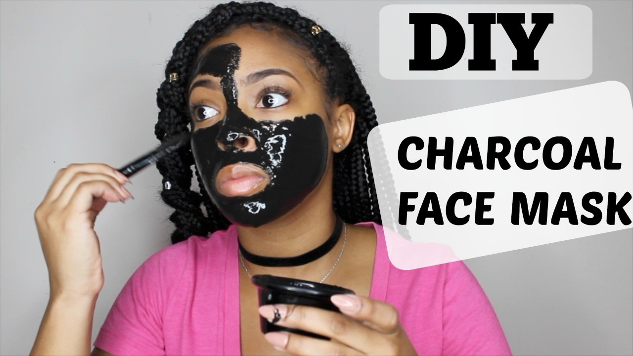 DIY Charcoal Peel Off Mask  EASY DIY CHARCOAL PEEL OFF FACE MASK