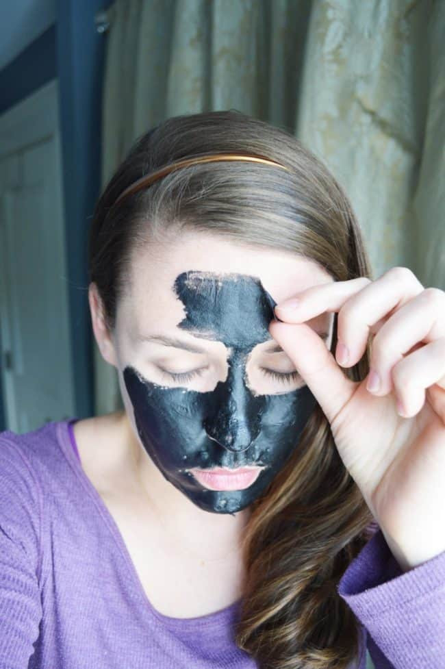 DIY Charcoal Peel Off Mask  DIY Charcoal Peel f Mask Easy Blackhead Busting Mask