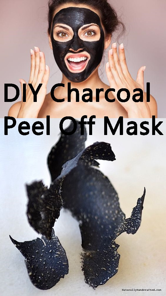 DIY Charcoal Peel Off Mask  Tips For Her DIY Charcoal Peel f Mask