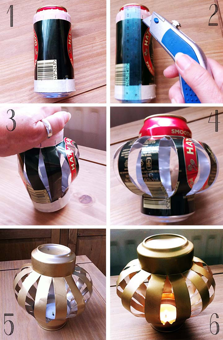 DIY Christmas Lantern  Pointless Pretty Things DIY Christmas Lantern