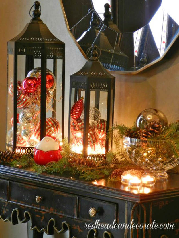 DIY Christmas Lantern  DIY Christmas Lanterns Ideas To Brighten Up Your Home