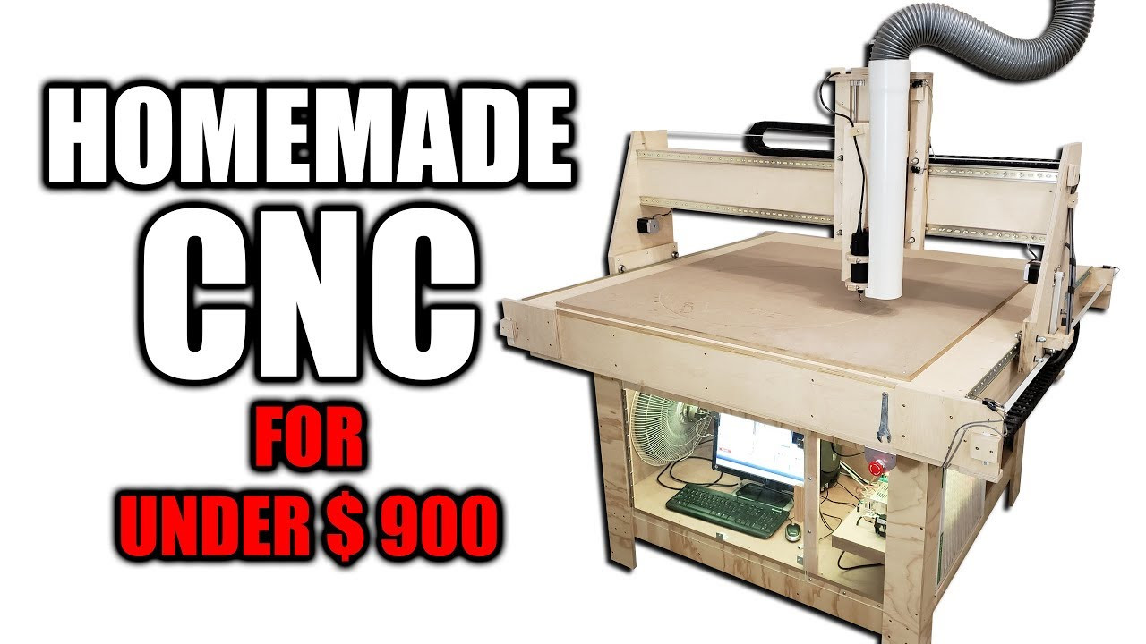 DIY Cnc Router Plan  DIY CNC Router for Under $900 Free Plans Available