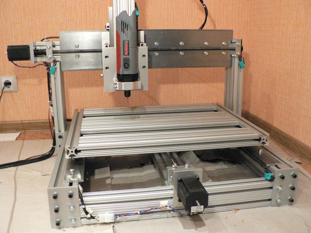 DIY Cnc Router Plan  DIY homemade CNC machine router mill set of plans