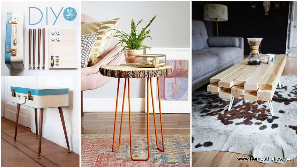 DIY Coffee Tables Plans  15 Beautiful Cheap DIY Coffee Table Ideas