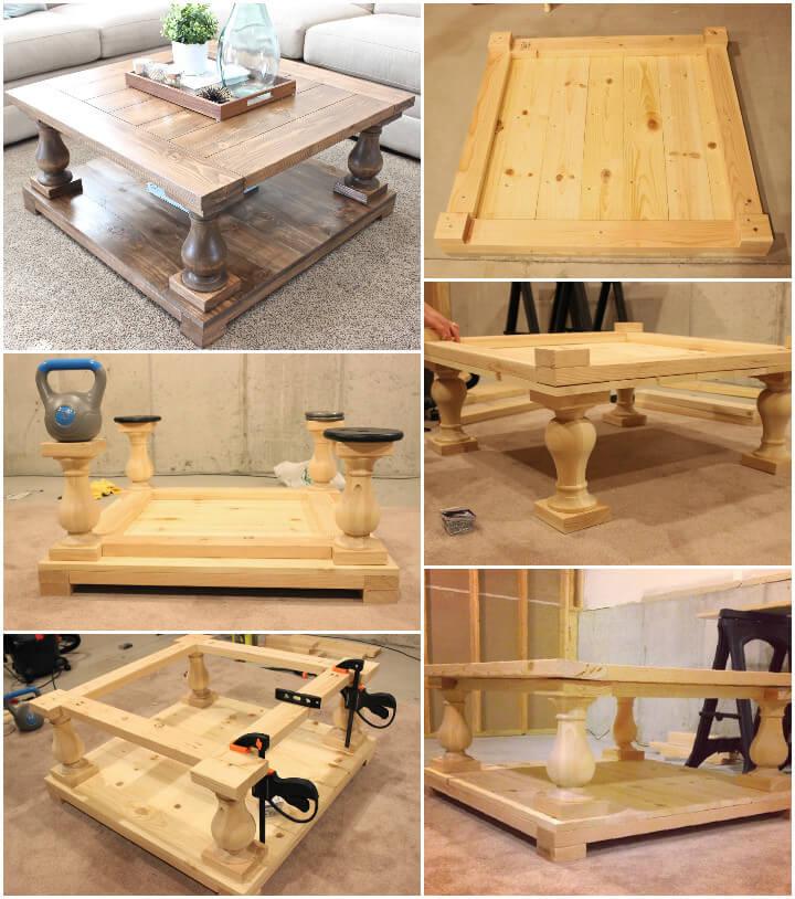 DIY Coffee Tables Plans  20 Easy & Free Plans to Build a DIY Coffee Table DIY Crafts