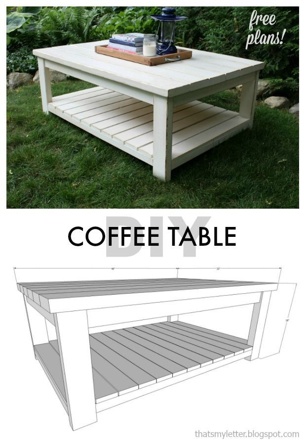 DIY Coffee Tables Plans  25 Best Ideas about Diy Coffee Table on Pinterest