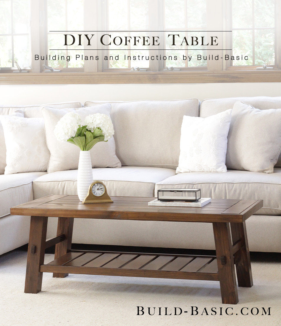 DIY Coffee Tables Plans  Build a DIY Coffee Table ‹ Build Basic