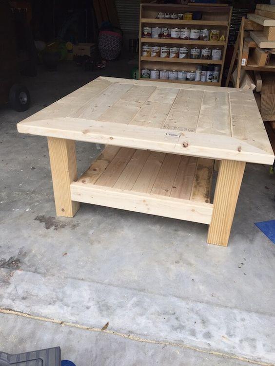 DIY Coffee Tables Plans  Best 25 Diy coffee table ideas on Pinterest