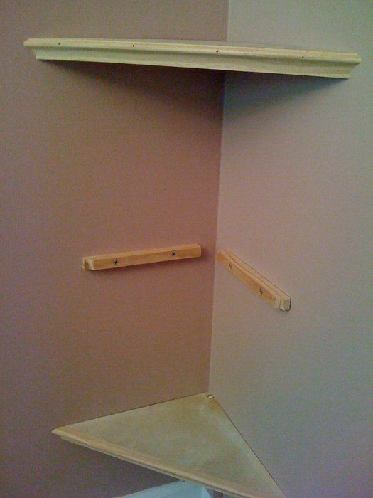 DIY Corner Shelf Plans  Build A Corner Wall Shelf WoodWorking Projects & Plans