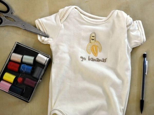DIY Dog Clothes From Baby Clothes  DIY dog shirt
