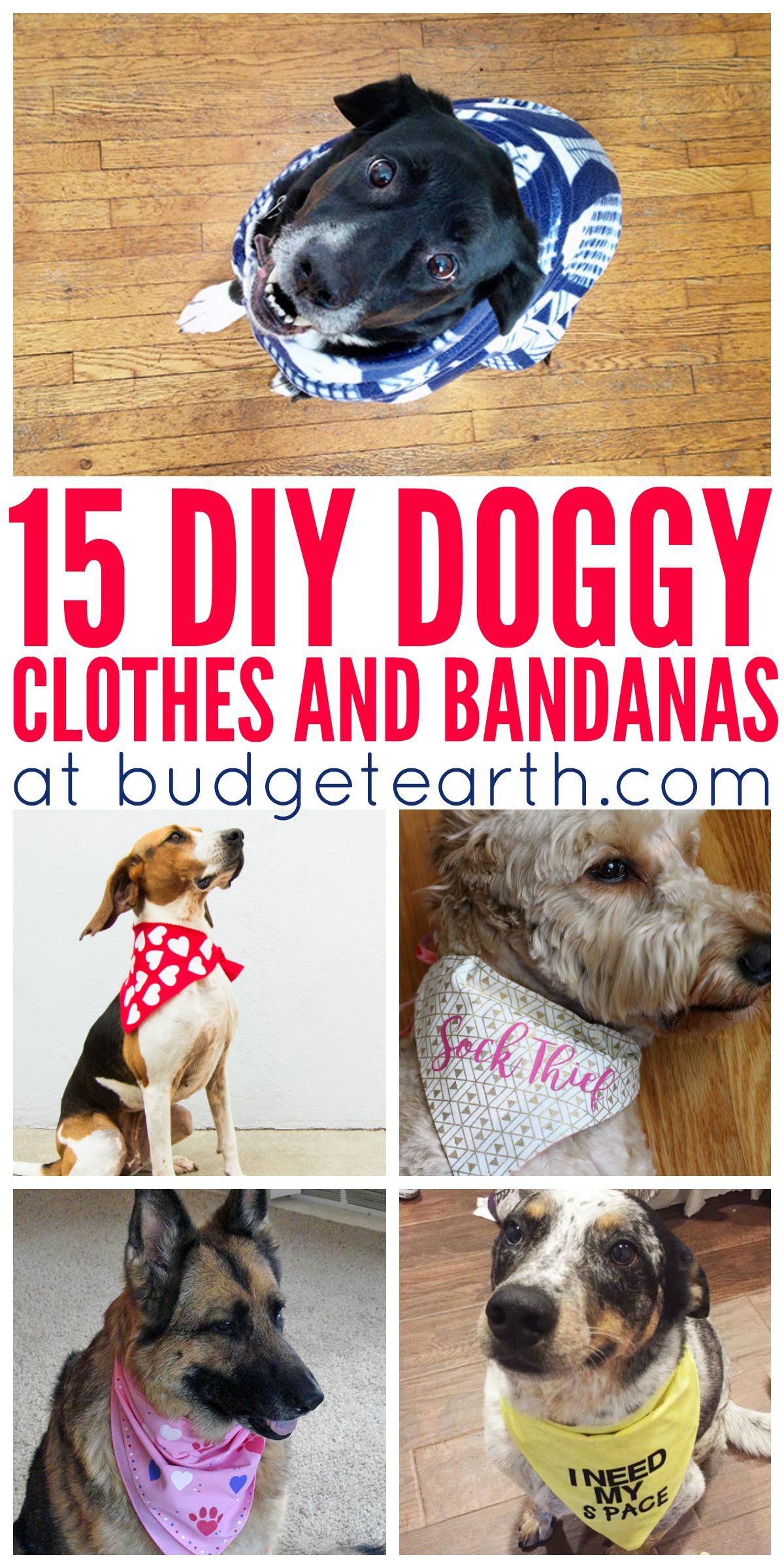 DIY Dog Clothes From Baby Clothes  15 DIY Doggy Clothes & Bandanas
