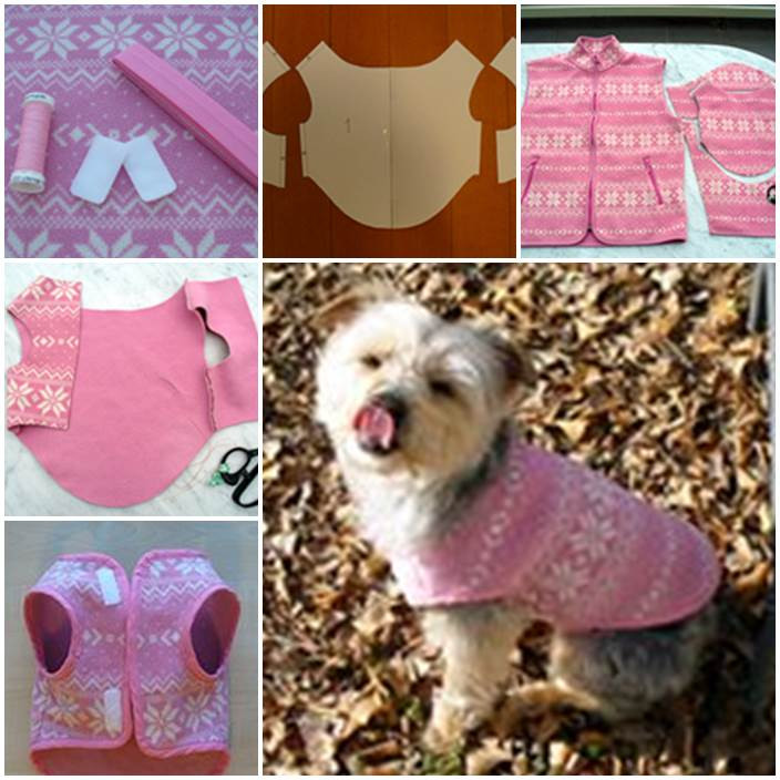 DIY Dog Clothes From Baby Clothes  DIY Dog Sweater from a Used Sweater Sleeve