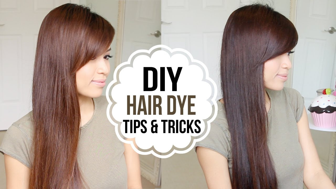 DIY Dyeing Hair  How to Dye Hair at Home Coloring Tips & Tricks