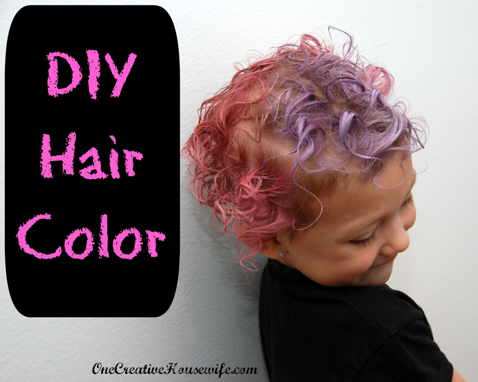 DIY Dyeing Hair  e Creative Housewife DIY Hair Color