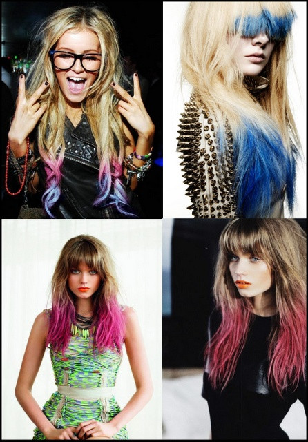 DIY Dyeing Hair  12 best images about Dip DIY hair on Pinterest
